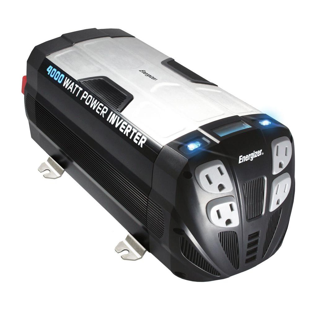 Energizer 4000-Watt 12-Volt Power Inverter