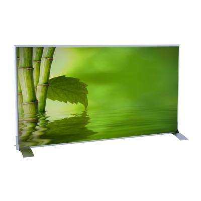 Paperflow easyScreen Horizontal Divider Screen in Bamboo with Leaf