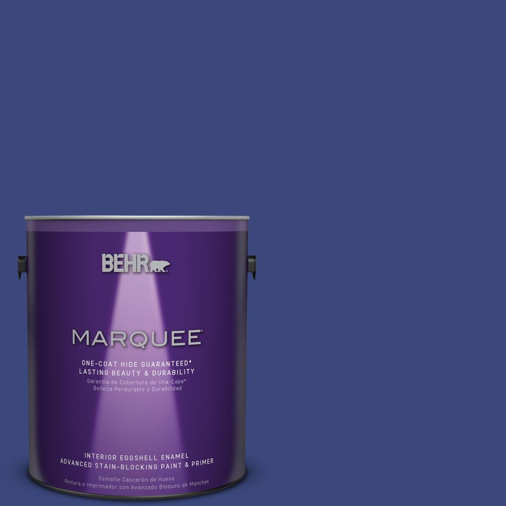 BEHR MARQUEE 1 gal. #MQ5-49 Expressionism One-Coat Hide Eggshell Enamel Interior Paint