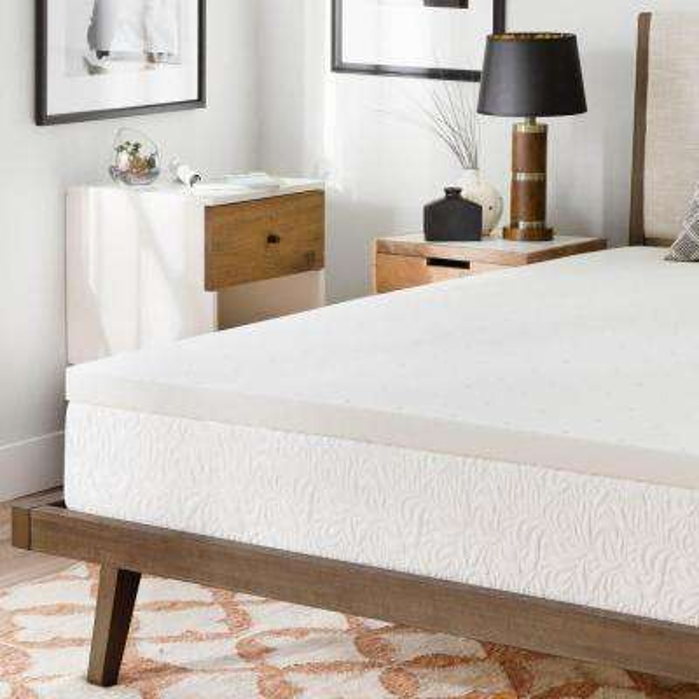 2 in cal king memory foam mattress topper
