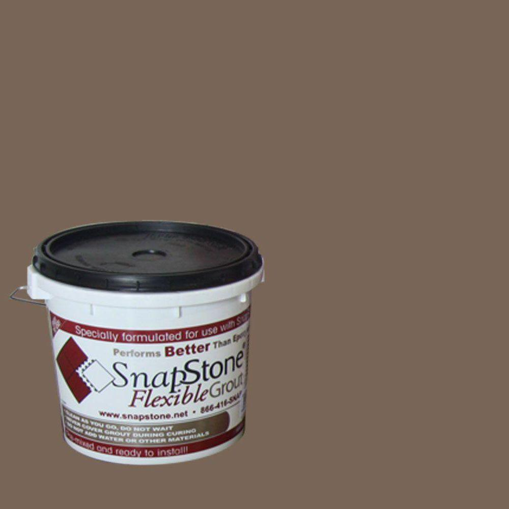 SnapStone Bark 9 lb. Pail Flexible Urethane Grout