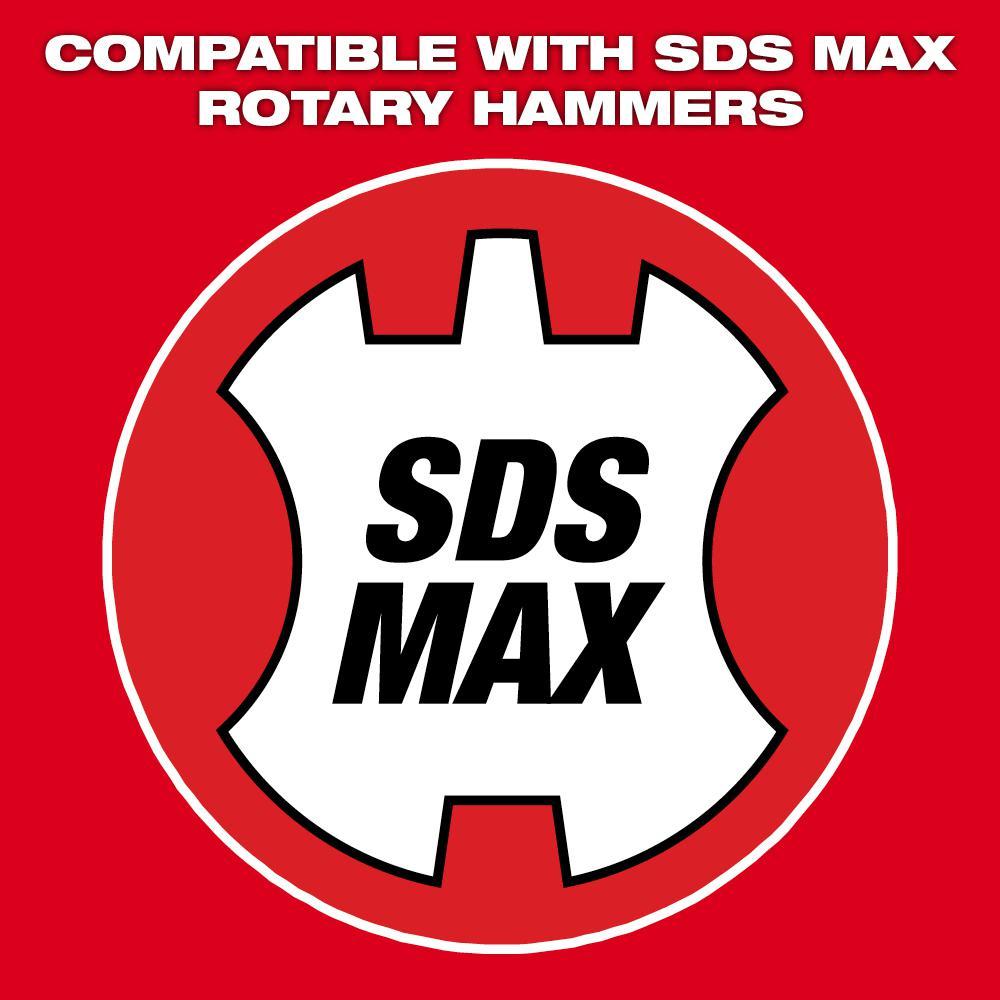 2 in. x 15 in. SDS-Max SLEDGE Steel Tile Chisel Bit