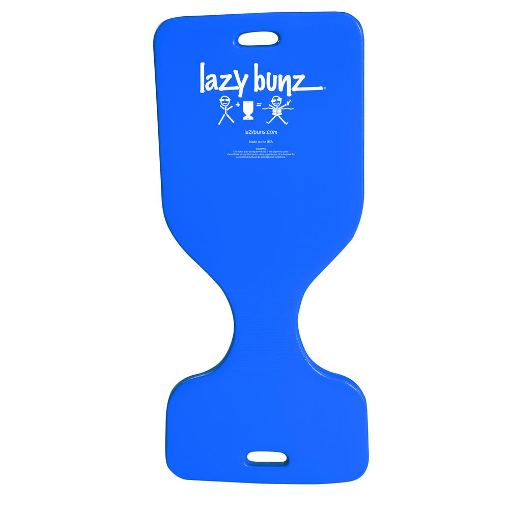 Lazy Bunz Foam Blue Pool Float