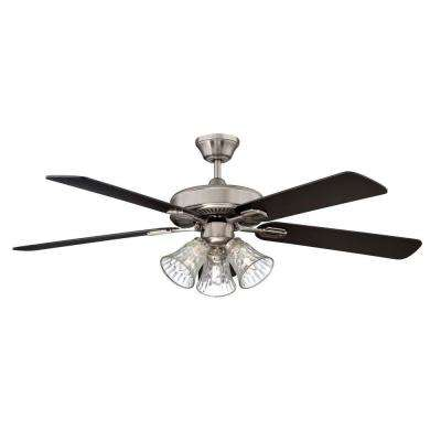 Richmond Series 42 in. Indoor Stainless Steel Fan