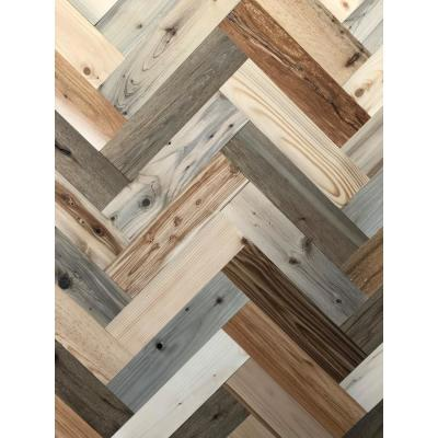 1/8 in. x 3 in. x 12 in. Peel and Stick Natural Wooden Decorative Wall Paneling (10 sq. ft.)