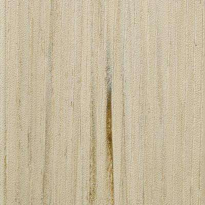 Arbor Collection 1 in. x 5-1/2 in. x 20 ft. Grooved PVC Composite Decking Board in Hazelwood
