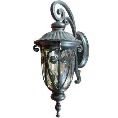 Hailee 3-Light Oil-Rubbed Bronze Outdoor Lantern