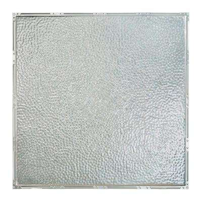 Chicago 2 ft. x 2 ft. Nail-up Tin Ceiling Tile in Clear