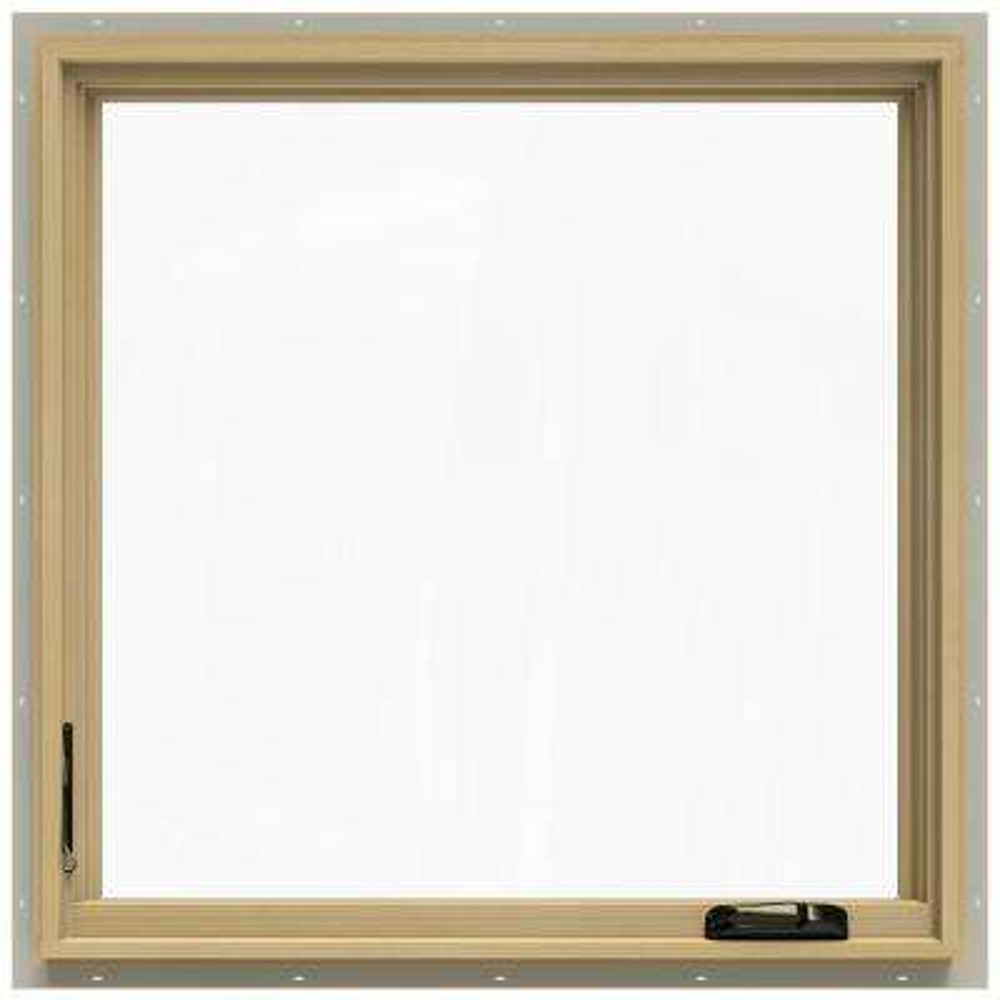 36.75 in. x 36.75 in. W-2500 Left-Hand Casement Wood Window