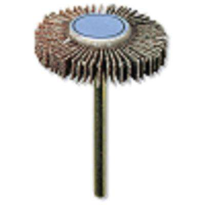 3/16 in. 120-Grit Rotary Sanding Flapwheel for Wood, Rubber, Platic, and Metal