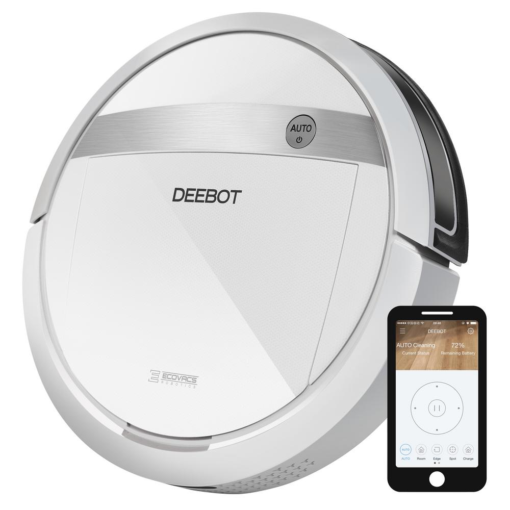 DEEBOT WiFi/Smartphone Controlled Robotic Vacuum Cleaner with Advanced Wet/Dry Mop