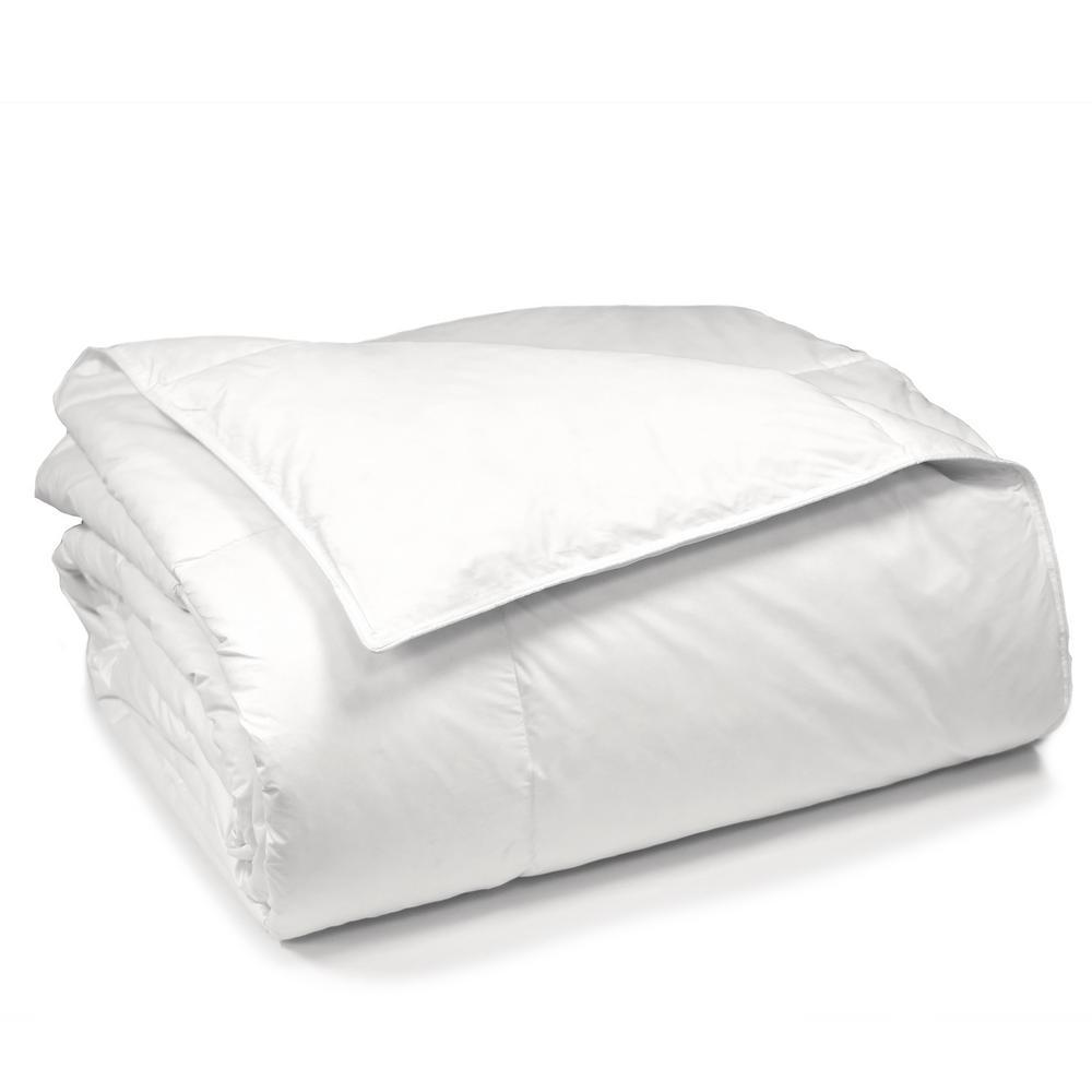 Blue Ridge European White Goose Down King Comforter 021216