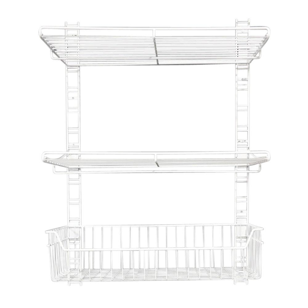 White Wire Shelving Accessories - Wiring Info •