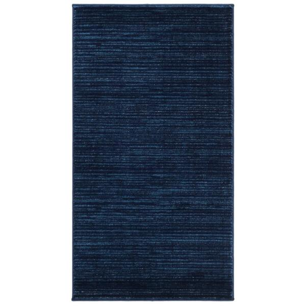 Vision Navy 2 ft. x 4 ft. Area Rug