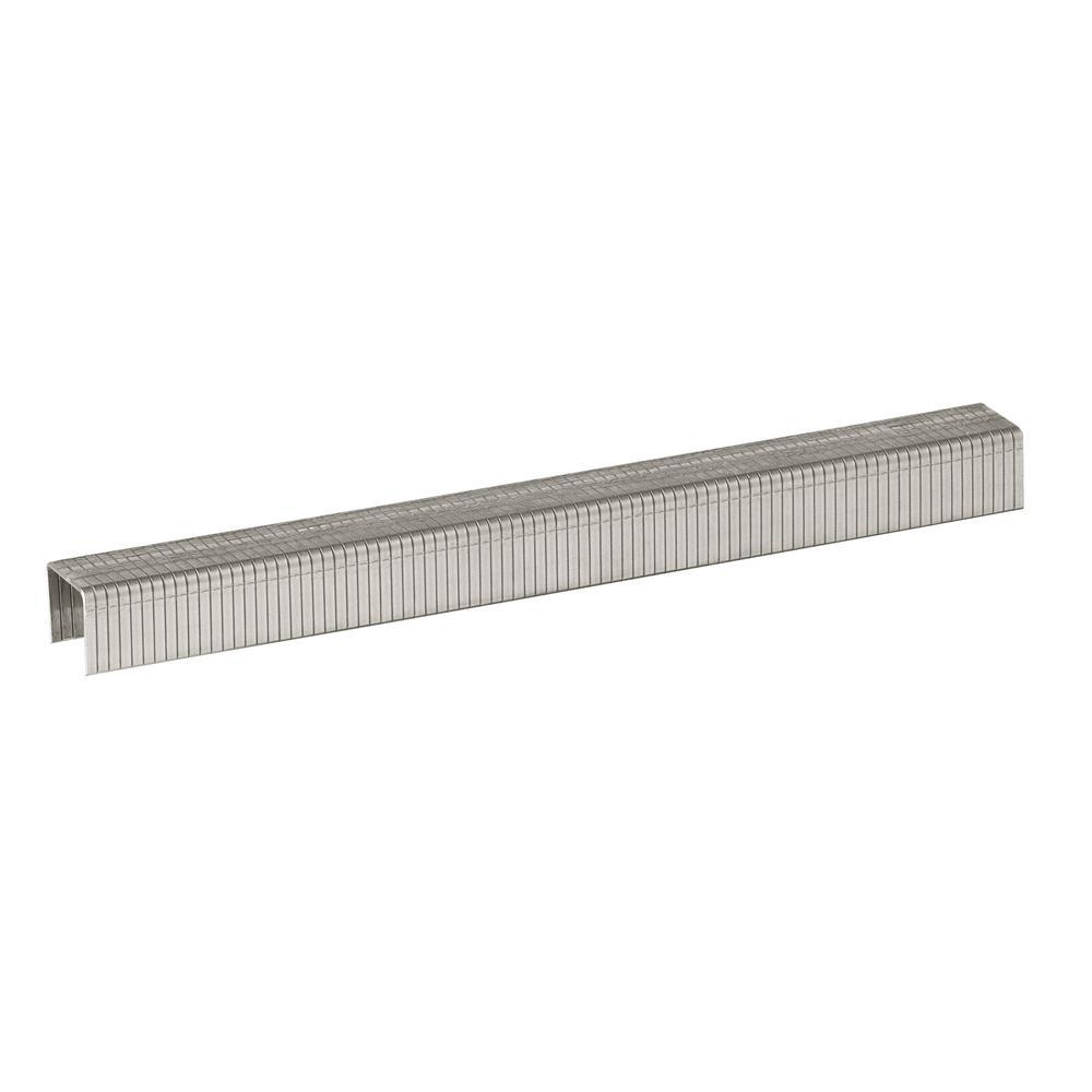 T50 3/8 in. Crown 18-Gauge Stainless Steel Staples (1000-Pack)