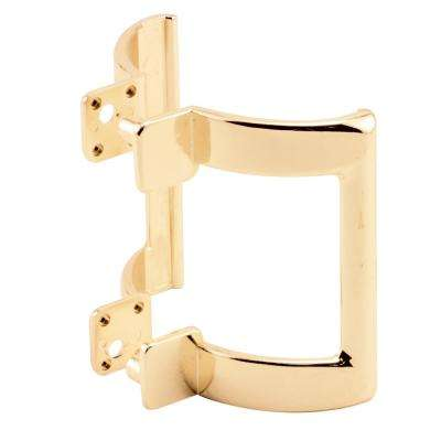 2-1/4 in. Gold Shower Door Handle Set