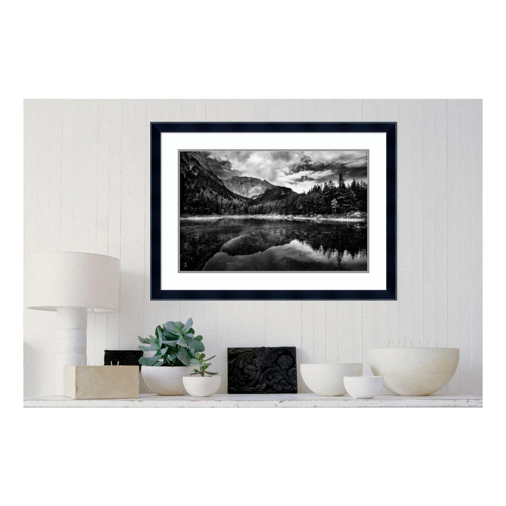 Amanti Art 37 In W X 27 In H Black And White Mountain