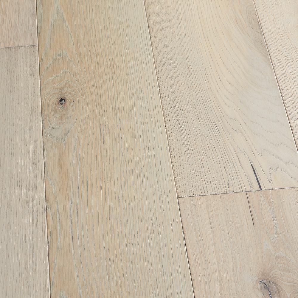 Malibu Wide Plank Take Home Sample French Oak Point Loma Click Lock Engineered Hardwood Flooring 5 In X 7