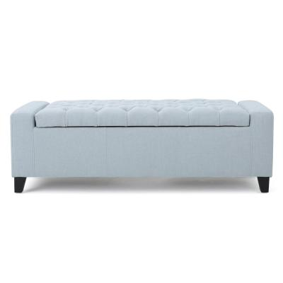 Blue Bedroom Benches Bedroom Furniture The Home Depot
