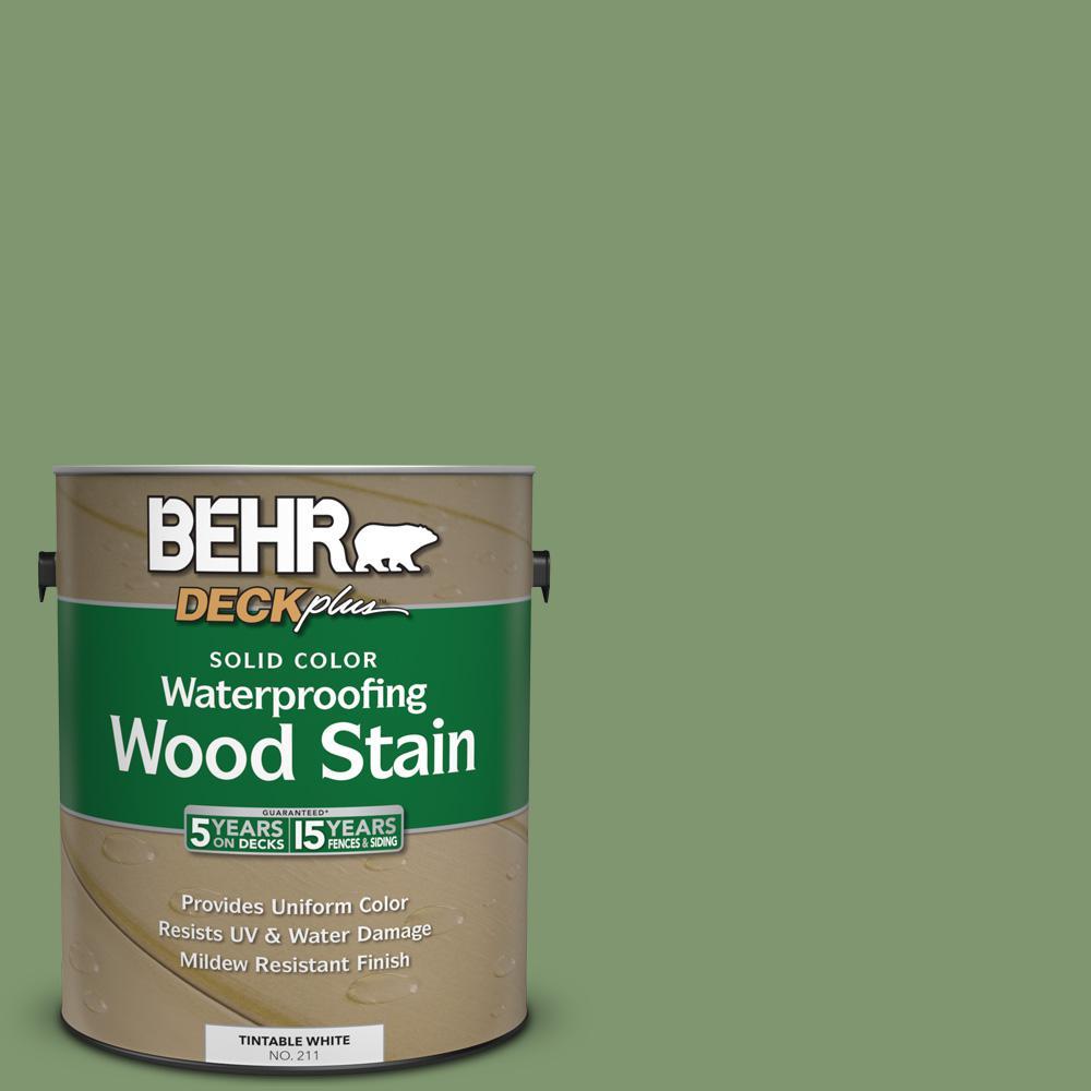 1 gal. #SC-132 Sea Foam Solid Color Waterproofing Wood Stain