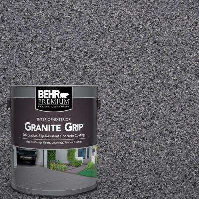 1 gal. #GG-08 Galaxy Quartz Decorative Flat Interior/Exterior Concrete Floor Coating