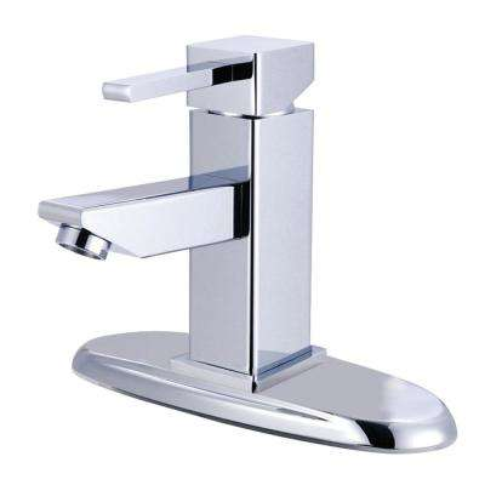 Claremont Single Hole Single-Handle Bathroom Faucet in Chrome