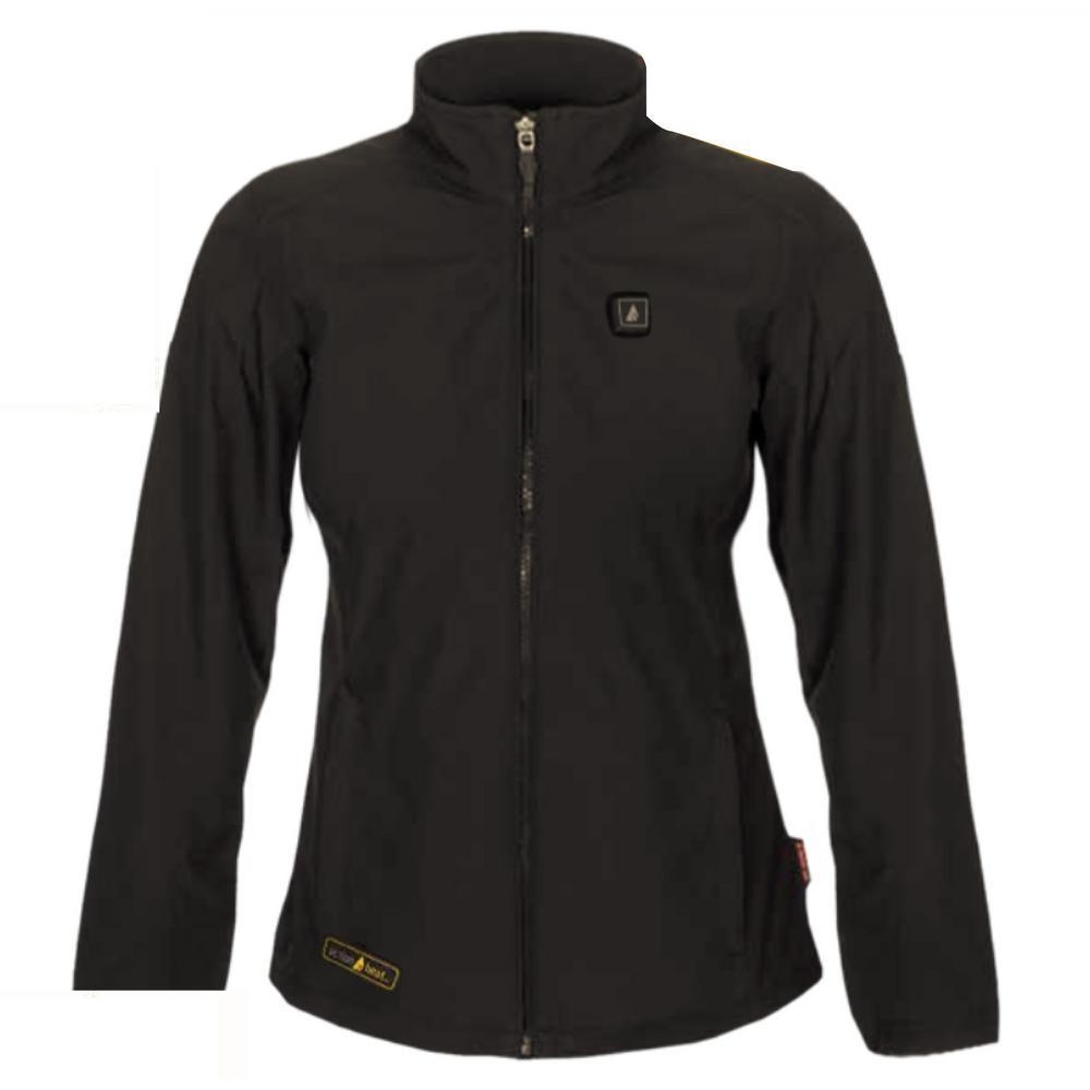 Women's X-Large Black Softshell 5-Volt Heated Jacket