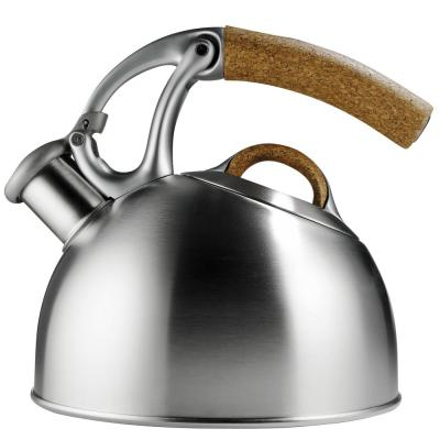 Good Grips Uplift Anniversary Edition 8-Cup Brushed Stainless Steel Tea Kettle