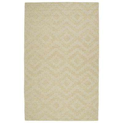 Imprints Modern Sand 10 ft. x 14 ft. Area Rug