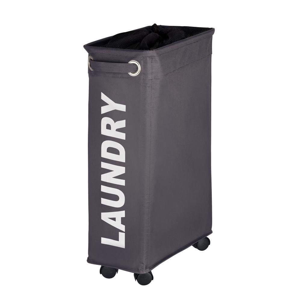 Laundry Bin Corno Grey