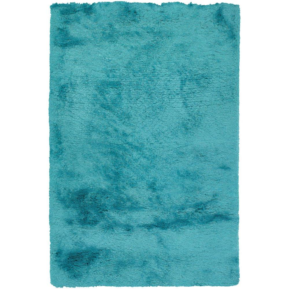 Chandra Naya Blue 9 ft. x 13 ft. Indoor Area Rug