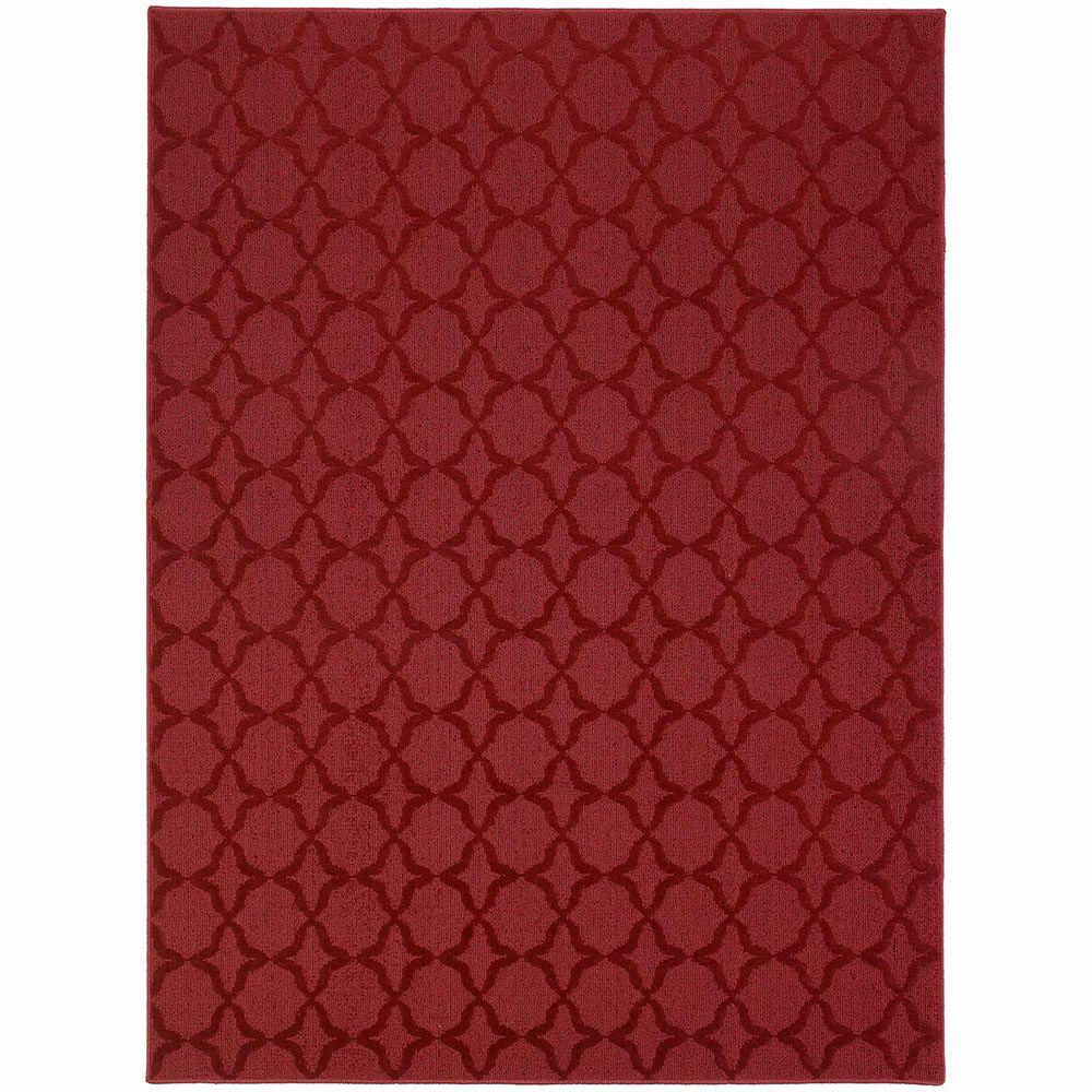 Garland Rug Sparta Chili Red 7 Ft 6 In X 9 Area Cl 10 Ra 7696 14 The Home Depot