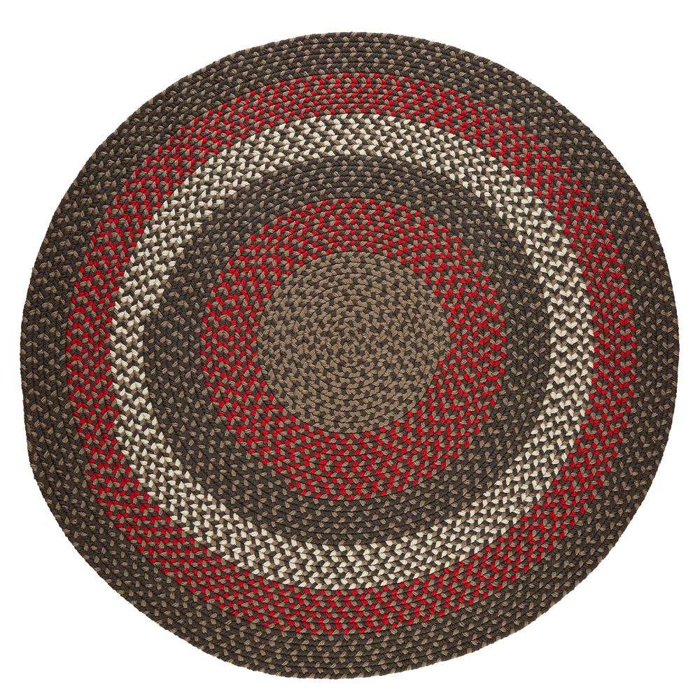 Rhody Rug Milan Velvet 4 Ft X 4 Ft Round Indoor Outdoor