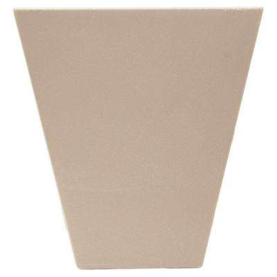 9 in. Flat Panel Window Header Keystone in 023 Wicker