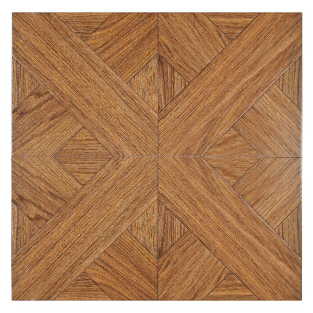 Merola Tile Forestal Wengue 17-3/4 in. x 17-3/4 in. Porcelain Floor and Wall Tile (15.62 sq. ft. / case)