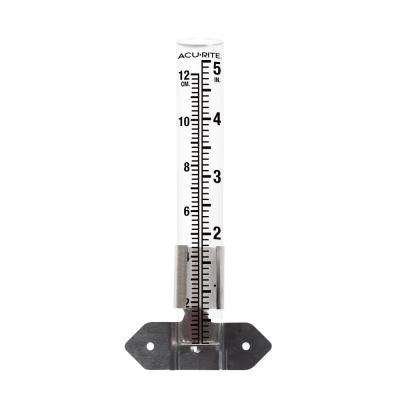 5 in. Glass Rain Gauge