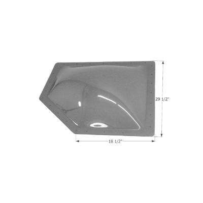 Standard RV 25-1/2 in. x 14-1/2 in. x 4 in. Skylight
