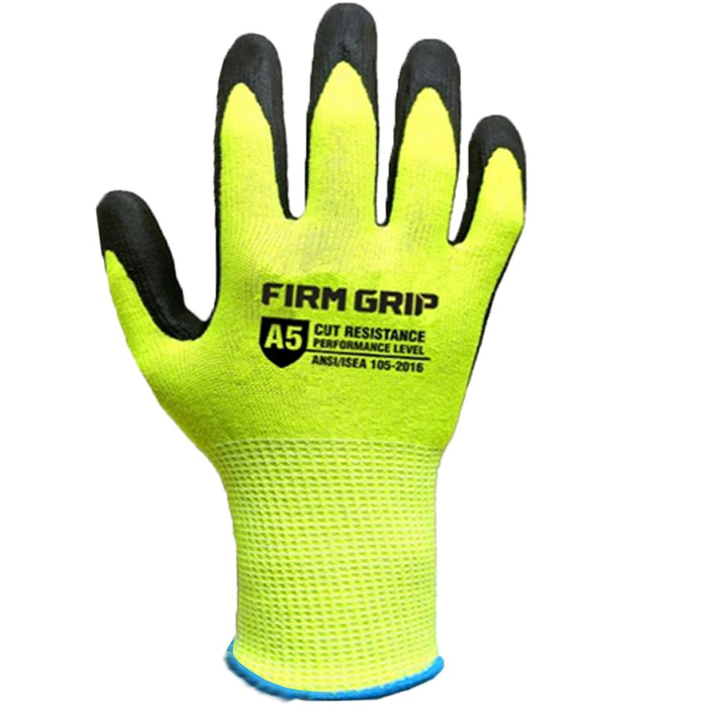 Firm Grip Large Cut Resistant Glove with Touchscreen Technology