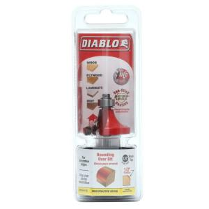 Diablo 1/2 inch Radius Rounding Over Router Bit from Router Bits