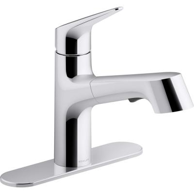 Kohler Pull Out Kitchen Faucets Kitchen Faucets The Home Depot