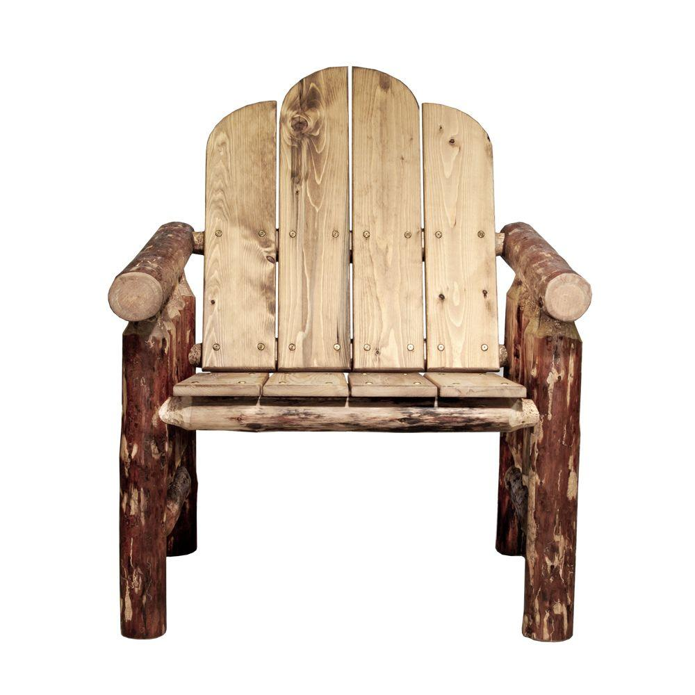Montana Woodworks Glacier Country Patio Deck Chair with Exterior Finish