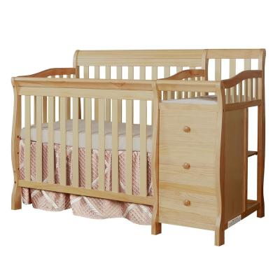 Jayden Natural 4-in-1 Mini Convertible Crib and Changer