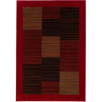 Everest Hamptons Red 9 ft. x 12 ft. Area Rug