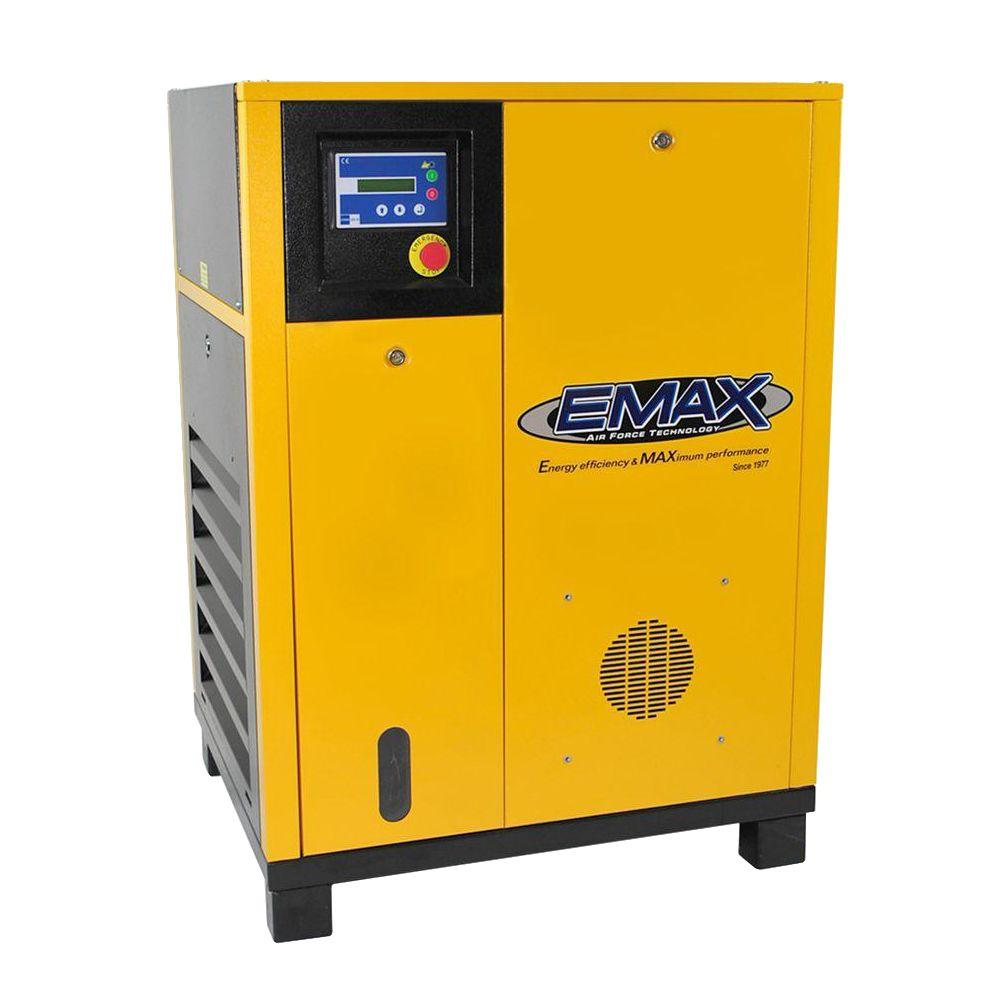 Premium Series 10 HP 1-Phase Electric Rotary Screw Air Compressor