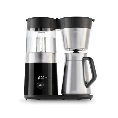 9-Cup Stainless Steel Drip Coffee Maker with Stainless Steel Carafe
