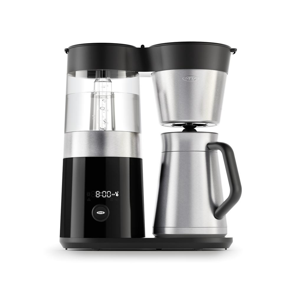 9-Cup Coffee Maker, Black/Silver