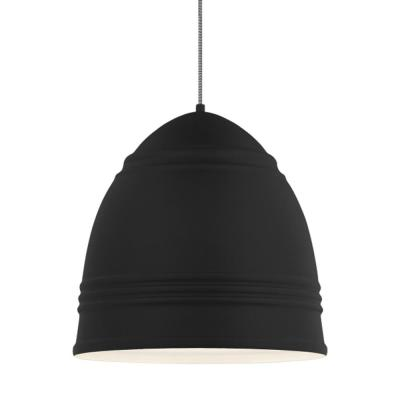 Loft Grande 3-Light Black Pendant