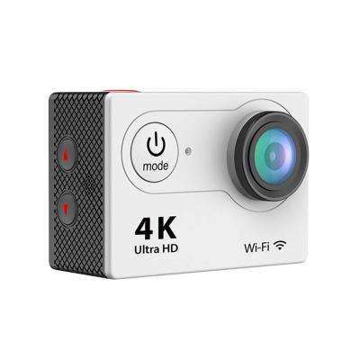 4K Waterproof 12 Mega Pixel Ultra HD Action Camera with Wi-Fi in Silver