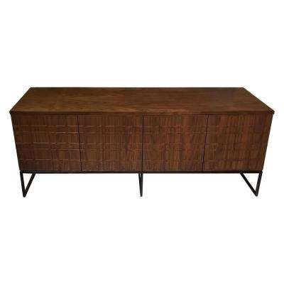 Paloma Moreno Walnut Media Console Table