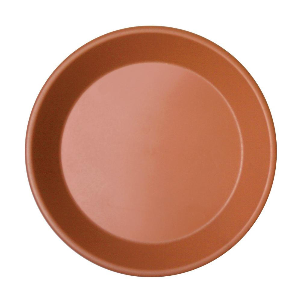 Newbury 14 in. Light Terra Cotta Poly Saucer